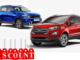 Ford Ecosport Available with Huge Discounts, Kia Sonet Effect?
