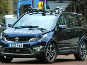 Check out This Self-Driving Tata Hexa from Europe