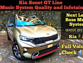Kia Sonet Bose Audio with Woofer Tested on Video