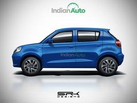 All-new Maruti Celerio Rendered, Will Rival Tata Tiago & Hyundai Santro
