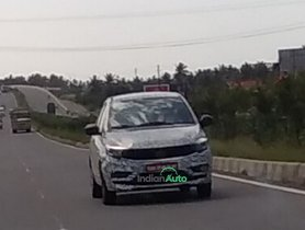Tata Tigor Facelift Spied With Camo, Diesel Engine to Make a Comeback?