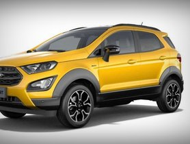 Ford EcoSport Active Leaked Before Launch on November 6