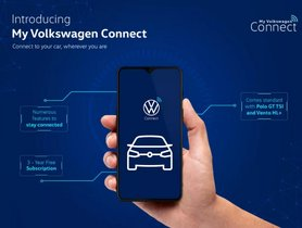 Volkswagen Polo, Vento Gets Connected Car Tech For Free
