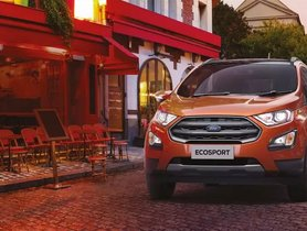 Ford EcoSport Gets Costlier Again, Third Price Hike This Year