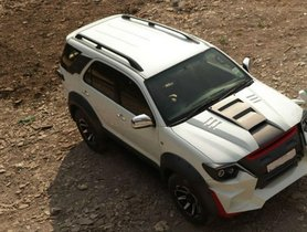 This is the WILDEST Modified Toyota Fortuner Ever!