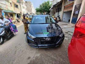 New Hyundai i20 Spotted in Starry Night Paint Job