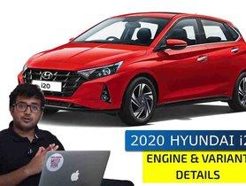 New Hyundai i20 Trim-wise Powertrain Options Revealed