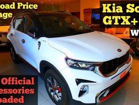 Kia Sonet GT-Line with Diesel-Auto Configuration Detailed in Walkaround Video