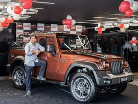 First Unit of 2020 Mahindra Thar Delivered to Owner