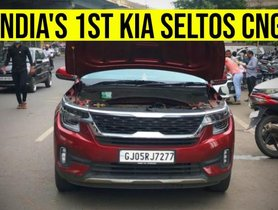 Here's the FIRST-EVER CNG-equipped Kia Seltos in India