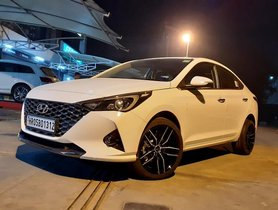 Modified Hyundai Verna Facelift Looks Rad with Aftermarket Wheels