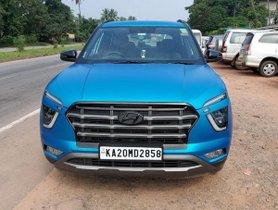 2020 Hyundai Creta Looks TOTALLY AWESOME in Satin Blue Wrap