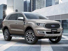 Ford Endeavour Gets Minor Updates in Thailand Market
