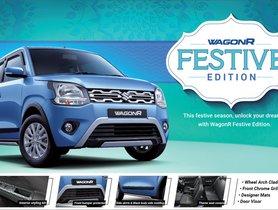 Maruti Alto, Celerio and Wagon R Get Special Festive Editions