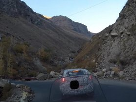 Tata HBX Spied Cold Weather Testing On Leh-Manali Highway - VIDEO
