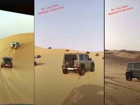 Check Out Suzuki Jimny Brilliantly Surfing On Massive Sand Dunes [Video]