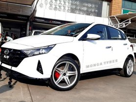 New Hyundai i20 Looks SPORTY with Star Alloys and Red Brake Callipers