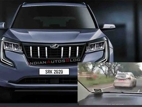 All-New Mahindra XUV500 Spotted on High-Speed Test Run