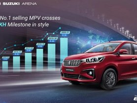 Over 213 Units of Maruti Ertiga Sold Every Day Since Launch