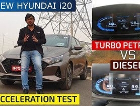 2020 Hyundai i20 Turbo Petrol and Diesel Acceleration Test – Diesel MT Faster than Petrol DCT?