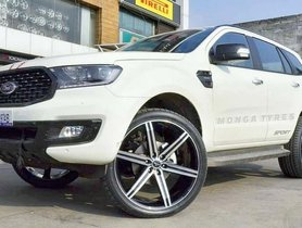 First-Ever Ford Endeavour Sport With XL-size 24-inch Alloy Wheels
