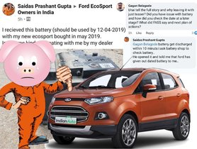 Ford EcoSport Delivered With EXPIRED Battery - PDI Gone Wrong!