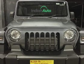 New Mahindra Thar Owners Start Installing SIGNATURE JEEP Grille [VIDEO]