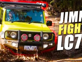 Suzuki Jimny Goes Off-Road With Land Cruiser Series 79 - COMPARISON VIDEO