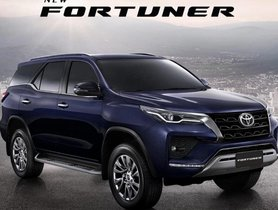 Toyota Fortuner Facelift Bookings Commence At Select Dealerships