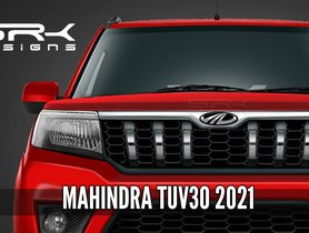 Mahindra TUV300 and TUV300 Plus Facelift To Launch Soon