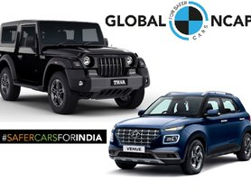 Affordable 5-star and 4-star NCAP SUVs in India - Mahindra Thar to Hyundai Venue