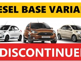 Diesel Models of Ford Figo Family Get COSTLIER - Full Info