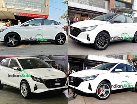 4 New Hyundai i20 Examples That Look Outrightly Gorgeous with 17-inch Aftermarket Alloy Wheels
