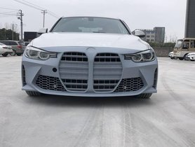 This F30 BMW 3-Series Has The UGLY Kidney Grille of New BMW M3
