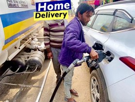Watch HOME DELIVERY of Diesel For This Kia Seltos - VIDEO