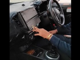 Next-gen Maruti Celerio Interior Revealed in Spy Shots, Inspired by WagonR