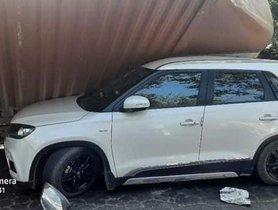 Maruti Vitara Brezza (4-Star GNCAP) Has An Accident, Shows Sturdy Pillar Strength