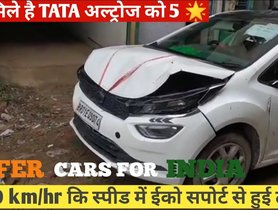 Tata Altroz Rear-ends Ford EcoSport With Crash Bar - See Impact