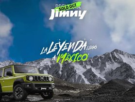 India-bound Suzuki Jimny (Maruti Gypsy) Sold Out in Mexico in Just 72 Hours