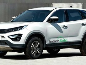 Tata Harrier Gets Nose Of Altroz In This Illustration