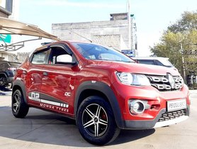 This Renault Kwid Looks Sporty With Trendy 13-inch Alloy Wheels