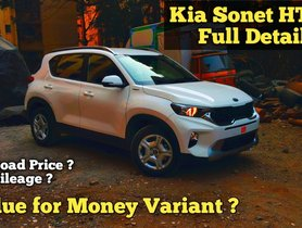 Is Kia Sonet HTK+ The MOST VFM Variant You Can Buy? - VIDEO