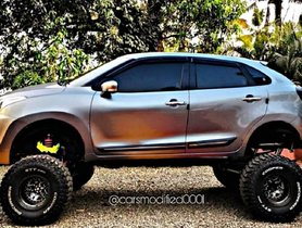 This Digitally-modified Maruti Baleno Can Put a Monster Truck to Shame