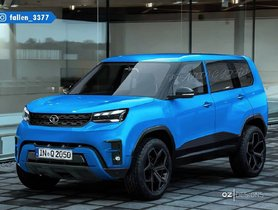 Tata Sierra EV Rendered As Production Model – Looks Fantastic!