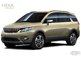 This is How Updated Tata Hexa Facelift Should Look Like!