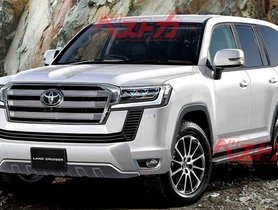 New-Gen Toyota Land Cruiser To Be Introduced In Apirl Next Year