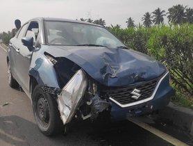 Maruti Baleno (3-star NCAP) Saves Occupants in Crash, Owner Thanks Build Quality