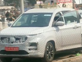 2021 MG Hector Facelift Spied Testing Yet Again