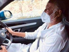 Superstar Rajnikanth Drives a Lamborghini Urus, Photos Go Viral
