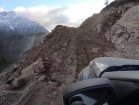 Watch Tata Nexon on Deadly Roads of Himalayas